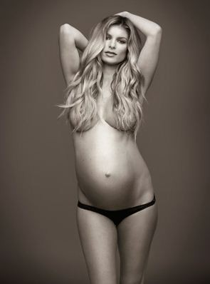 Marisa Miller Nude Baby Bump for Allure
