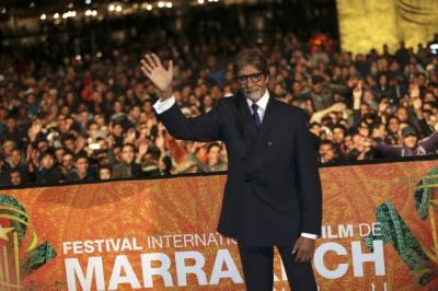 Amitabh Bachcha at Marrakech Film Festival 2012