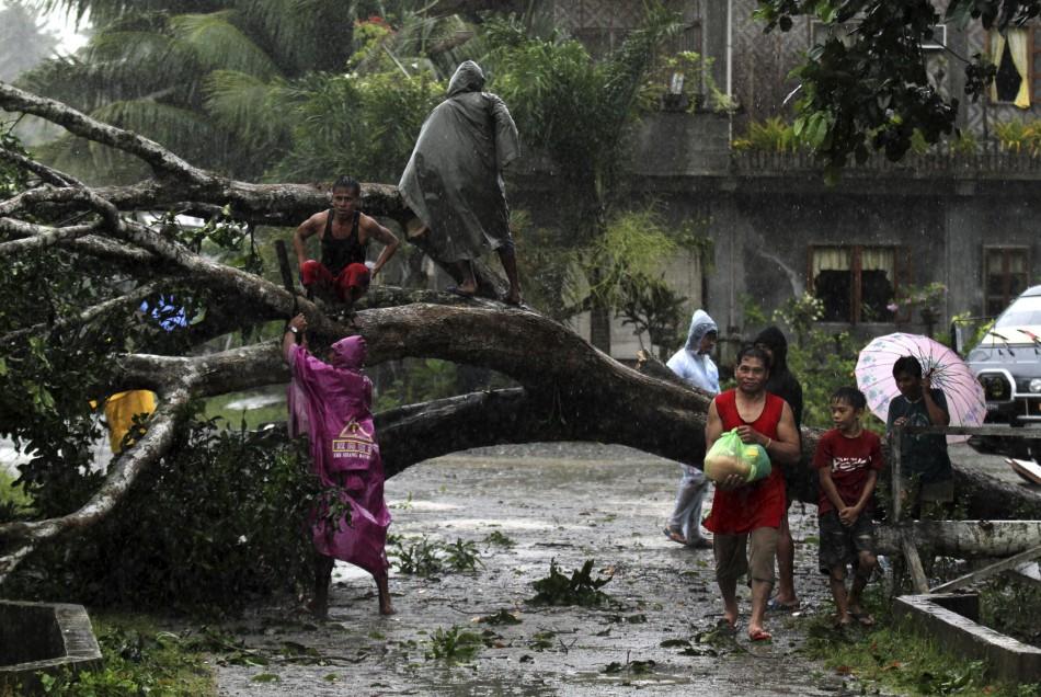 200 Kph To Mph >> Typhoon Bopha Lashes Philippines [PHOTOS]