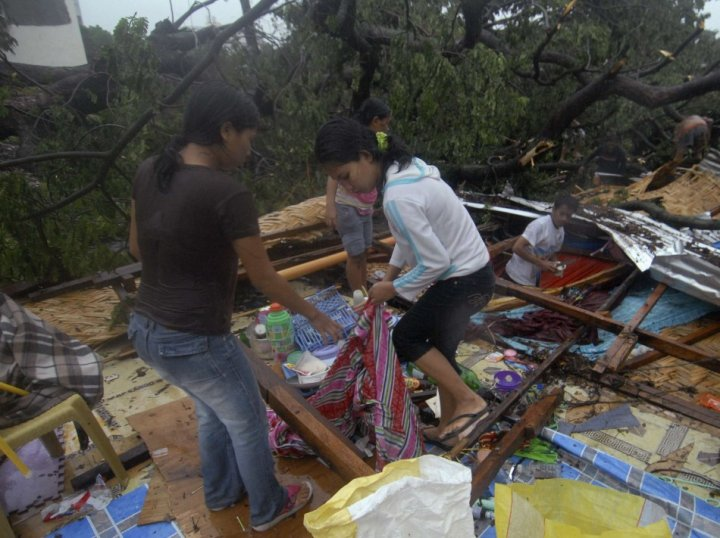 Philippines Typhoon Bopha