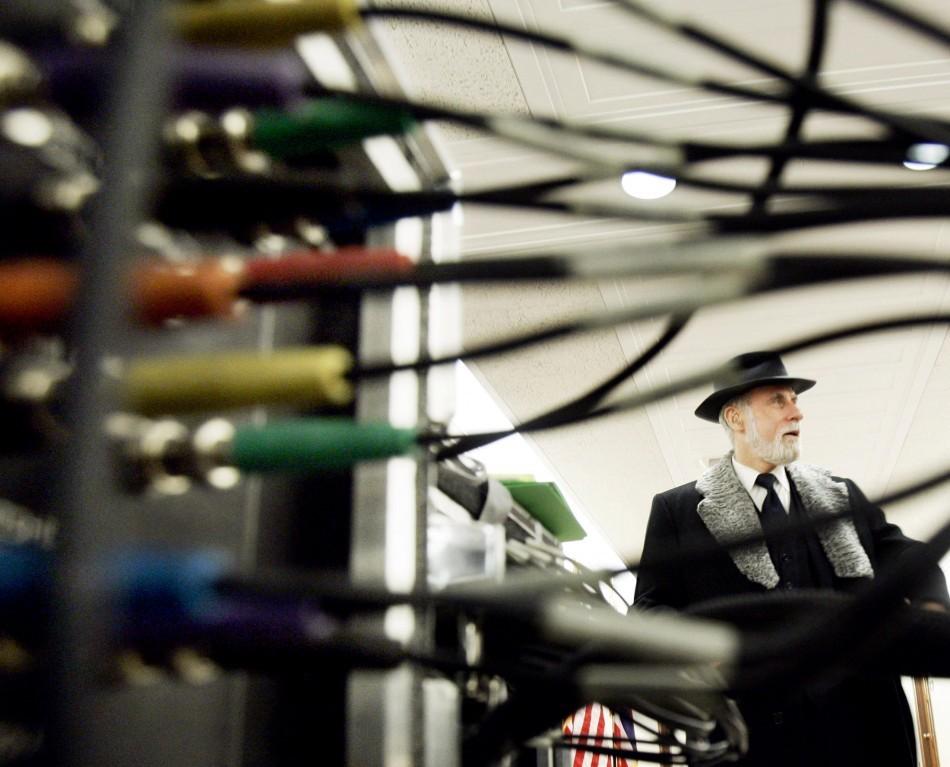 Vint Cerf, Google's chief internet evangelist