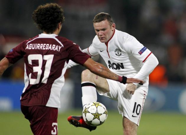 CFR Cluj v Manchester United