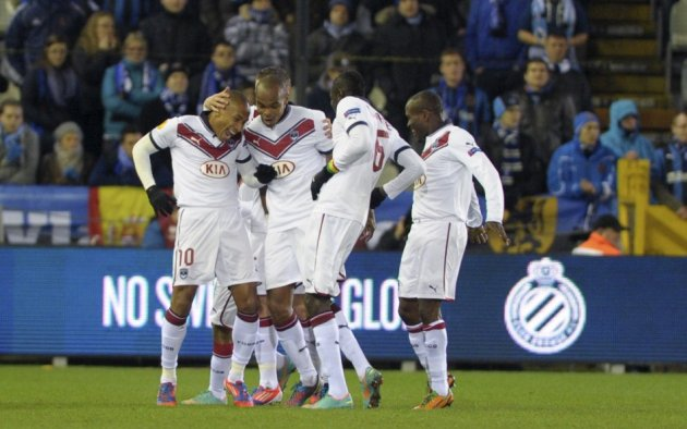 Bordeaux Players Celebrating