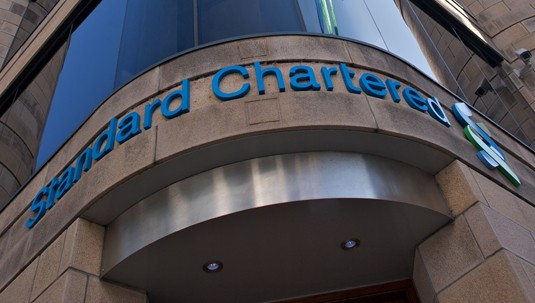 Standard Chartered office in Jersey