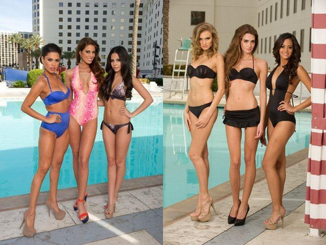 Miss Universe 2012 Contestants Dazzle in Swimsuit
