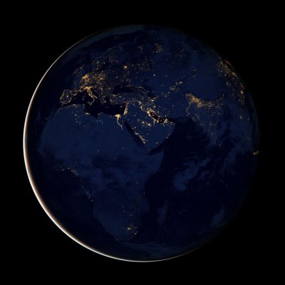Stunning Night Images of Earth