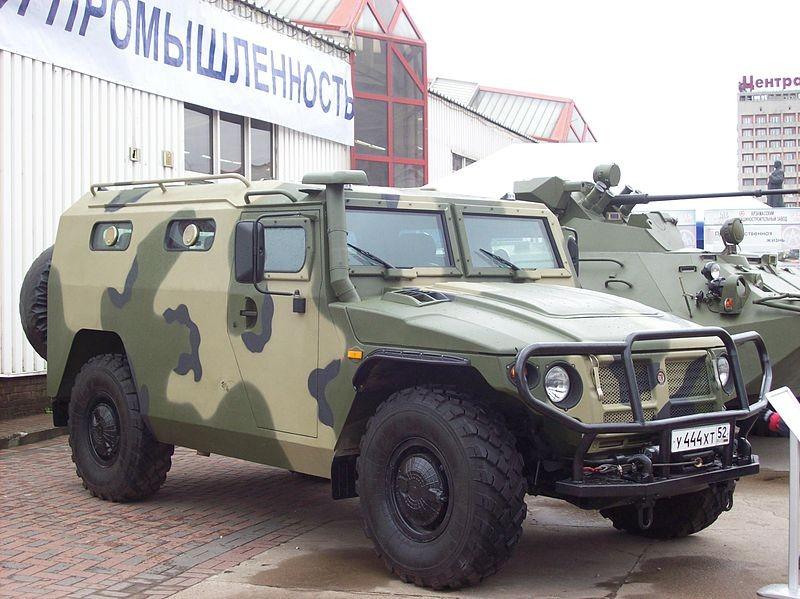 GAZ-2330 Tiger