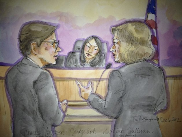 Court proceedings in San Jose