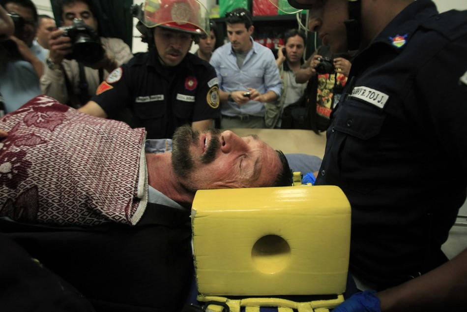 John McAfee Hospitalised