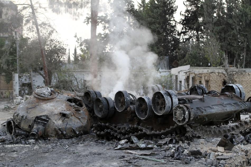 Syria Civil War Endgame Rebels Tighten Screws On Assad