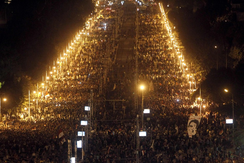 Anti-Mursi protests in Cairo