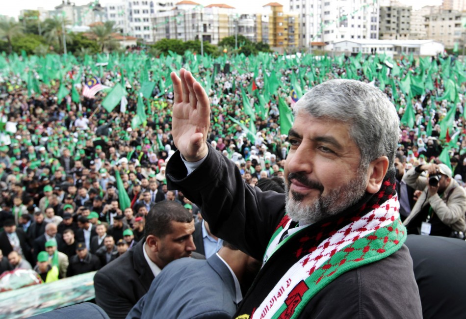 Hamas Leader Khaled Mashaa