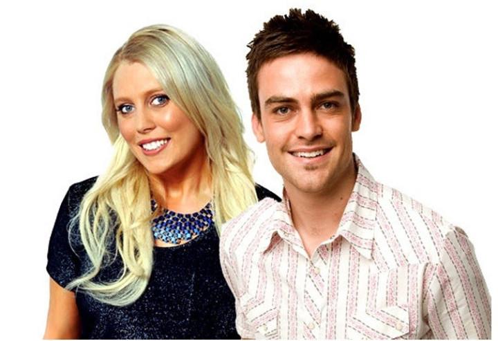 Australian DJs Michael Christian and Mel Greig