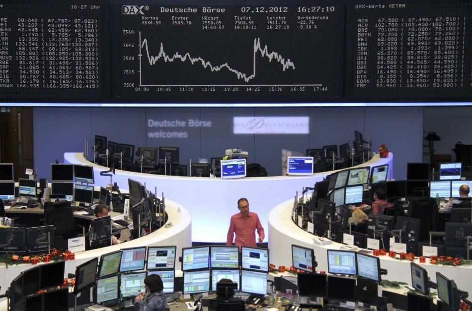European markets down as eurozone concerns mount