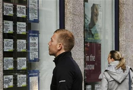City of London Jobs Down 35 % Amid Weak Economy