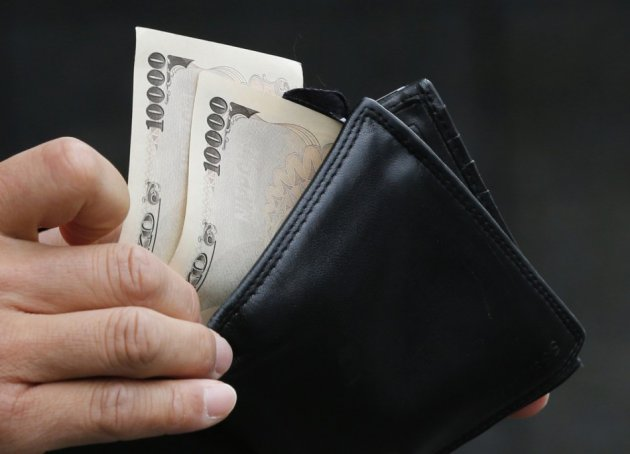 Yen bank notes
