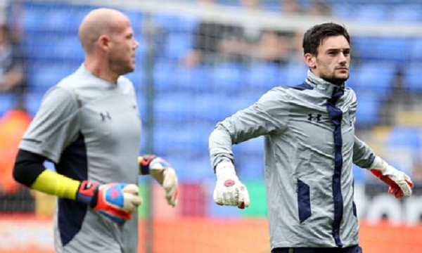 Brad Freidel and Hugo Lloris