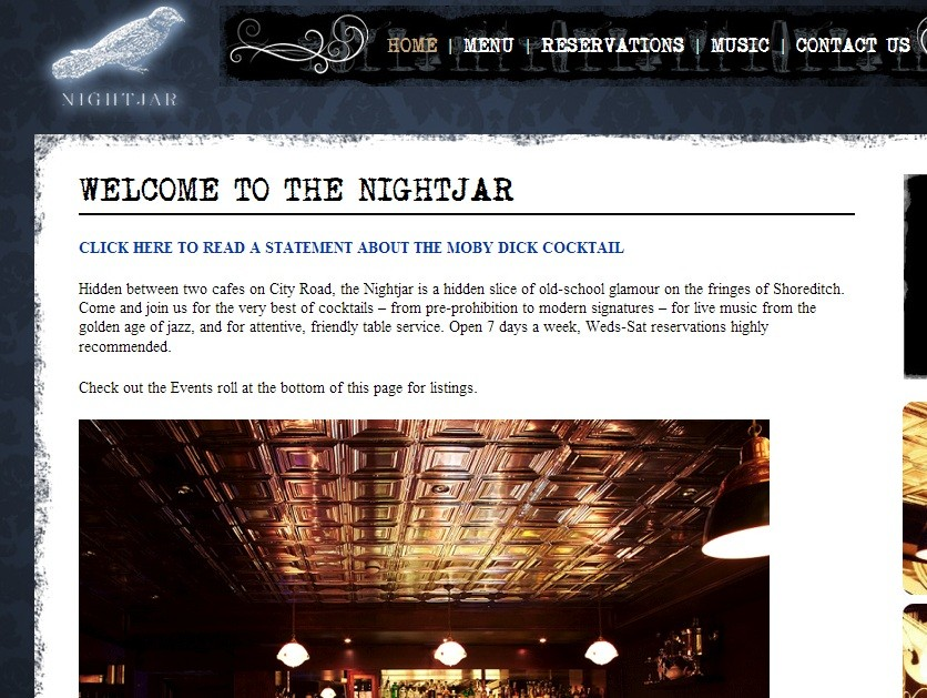 Nightjar website