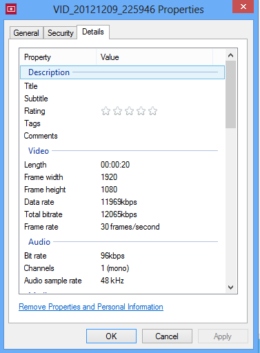 How to Increase Video Recording Bitrate on the Nexus 4 to 20Mbps [Guide]
