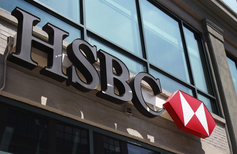 A HSBC Bank branch in New York