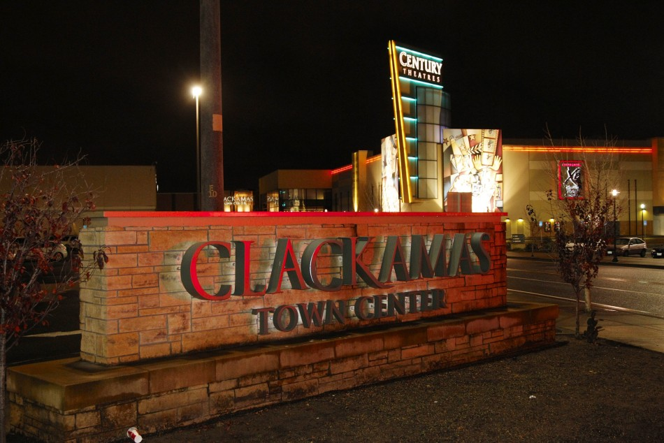 The exterior of the Clackamas Town Center shopping mall in Portland, Oregon (Reuters)