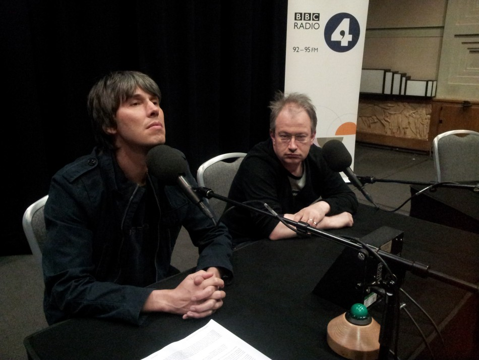 Things can only get better? (Photo: @profbriancox)
