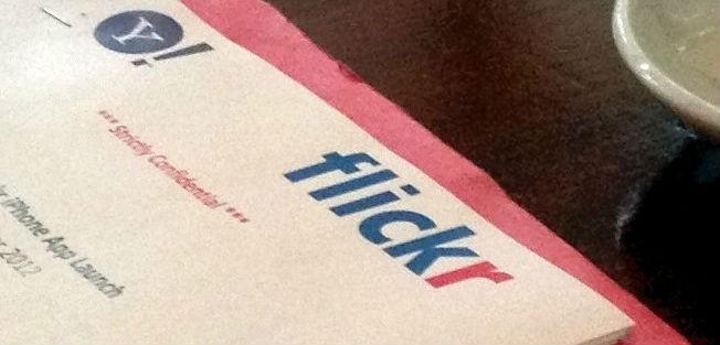Flickr iOS app