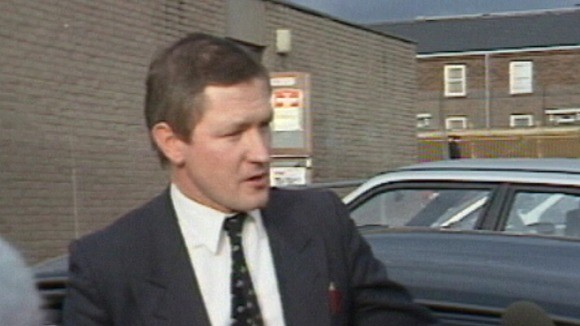 Pat Finucane was shot 14 times in front of his family at the height of the Northern Ireland Troubles (ITN)