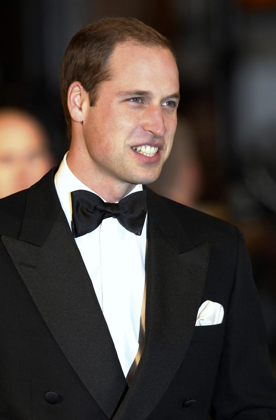 Britains Prince William