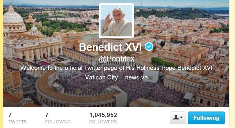 Pontifex on Twitter