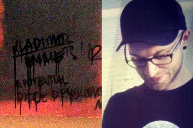 Vladimir Umanets admitted defacing Rothko's painting (Twitter)