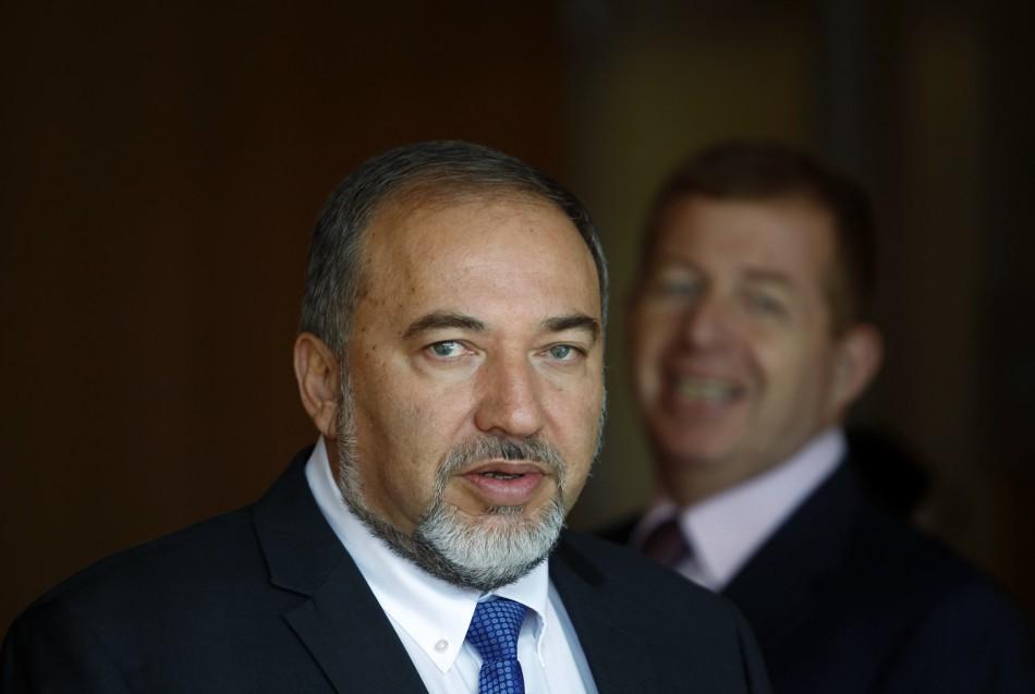 Israeli Foreign Minister Lieberman