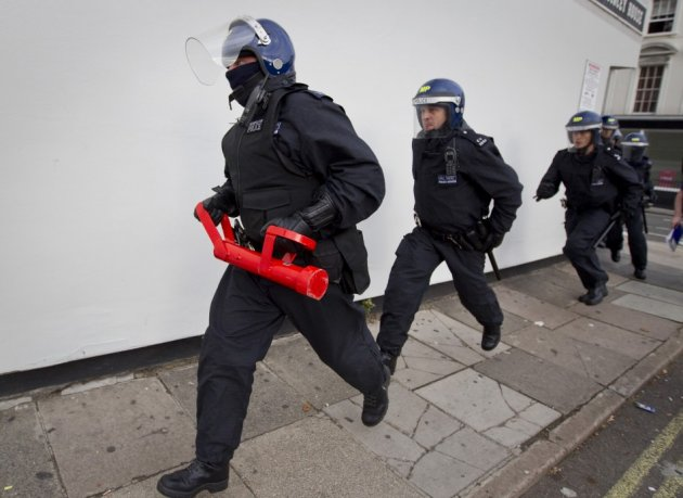 Police raids to smash terror plots distort average figures