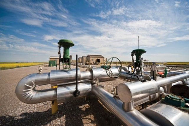 Encana facility in Alberta