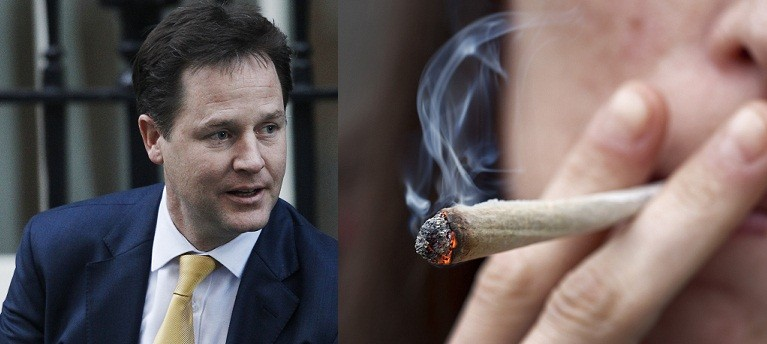 Deputy Prime Minister Nick Clegg said the war on drugs had failed (Reuters)