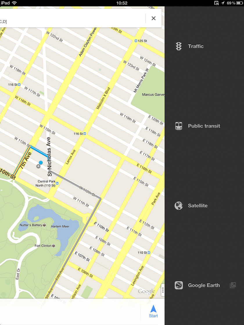 Run Google Maps in Fullscreen Mode on Jailbroken iPad [How To]