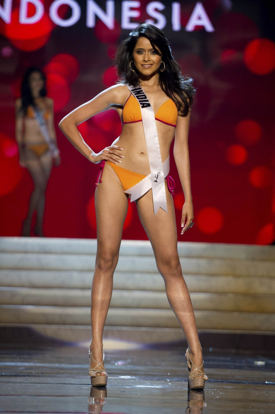 Miss India Ruhi Singh at the Swimsuit Competition of the 2012 Miss Universe Presentation Show at PH Live in Las Vegas