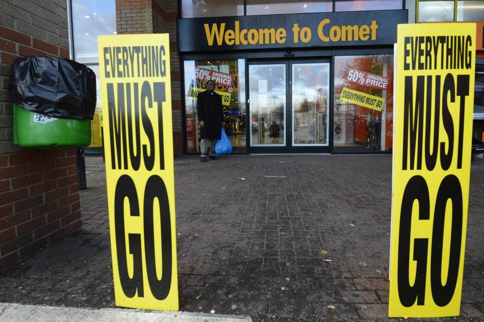 A Comet store in south London