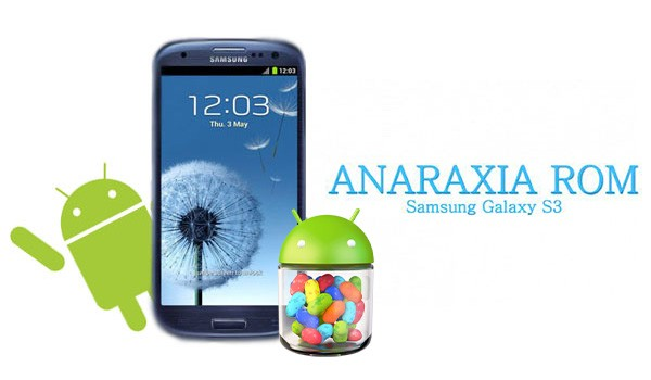 Install Android 4.1.2 XXELKC Jelly Bean on Galaxy S3 I9300 with Anaraxia ROM [GUIDE]