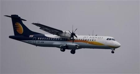 A Jet Airways aircraft