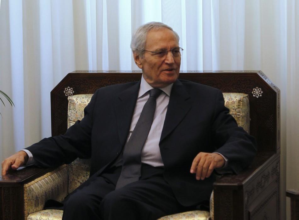 Syria's Vice President Farouq al-Sharaa