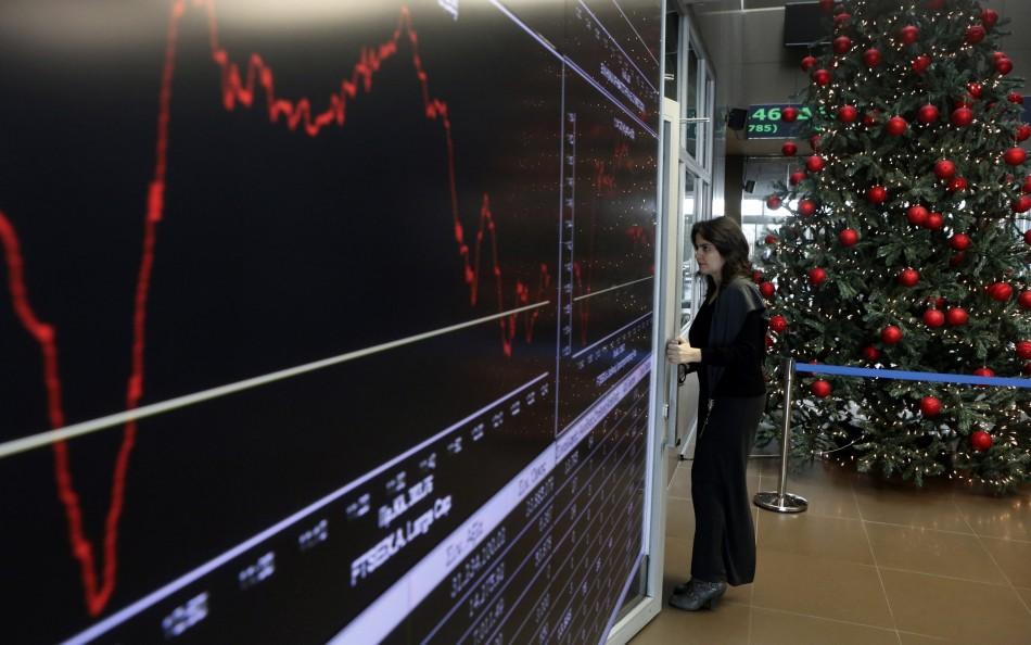European stock markets, fiscal cliff