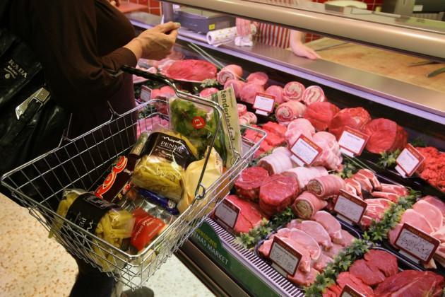 UK inflation basket food