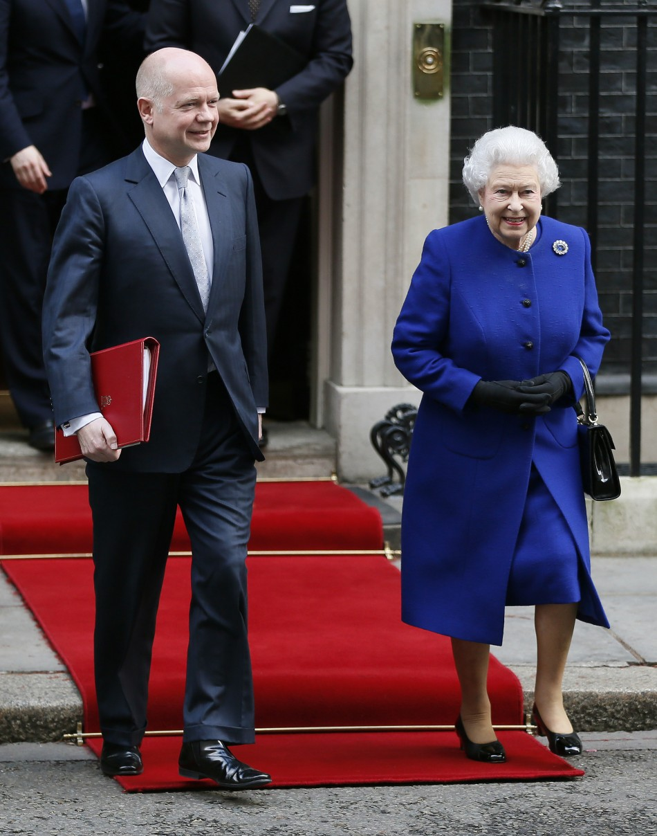 Queen-William Hague