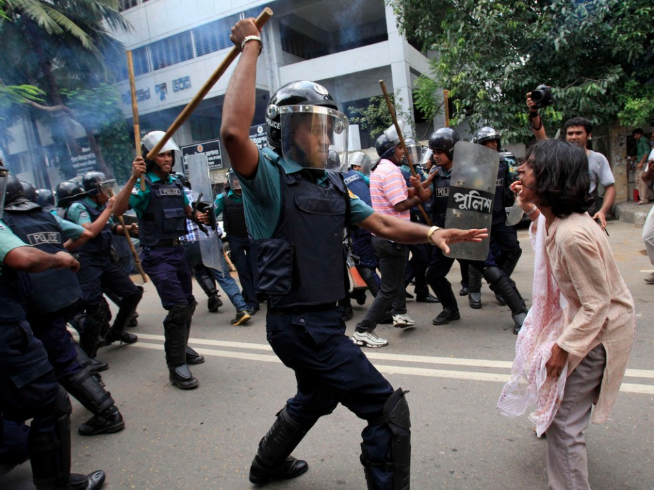 Images of 2012 bangladesh fuel protest
