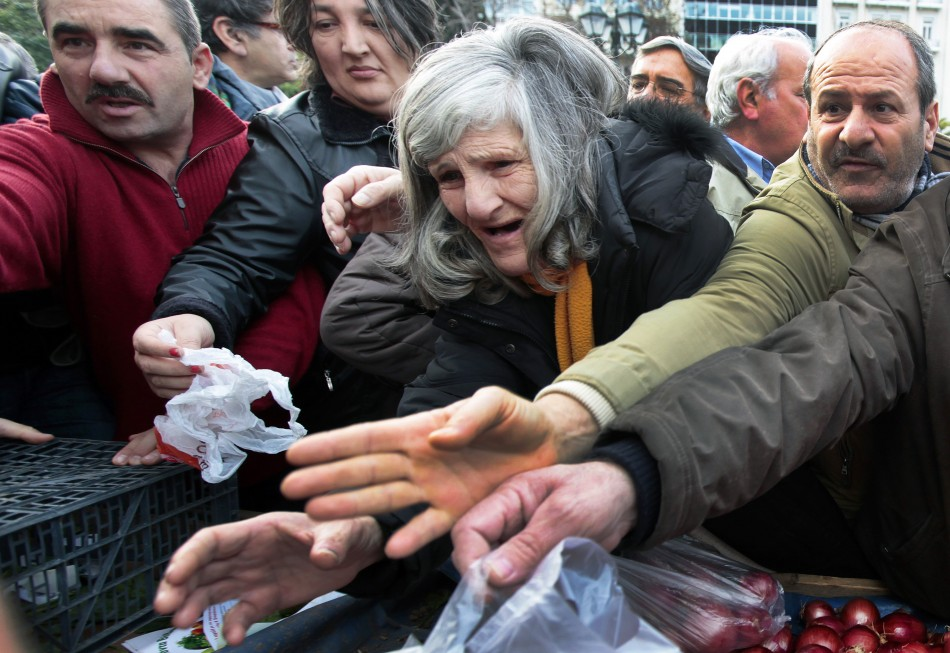 Images of 2012 Greek Austerity