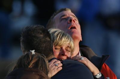 Sandy Hook Elementary School families grieve