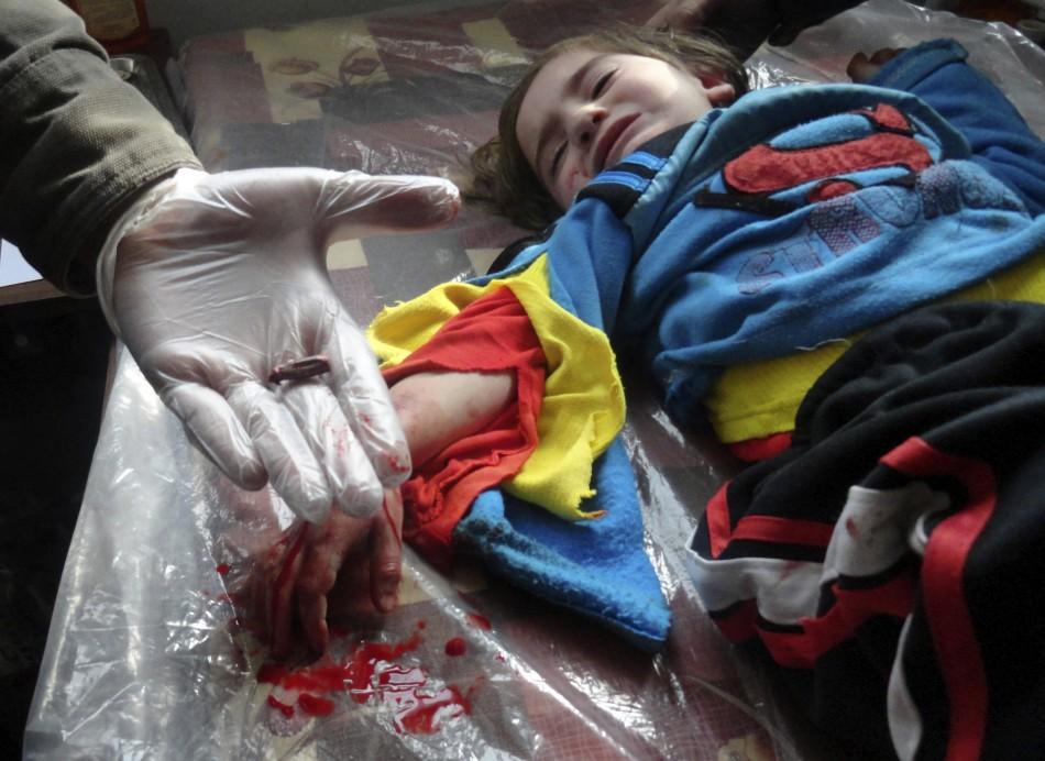 Images of 2012 syria injury