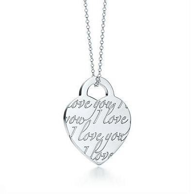 Tiffany Notes I Love You pendant