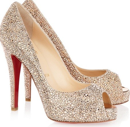 Christian Louboutin Suede Pumps